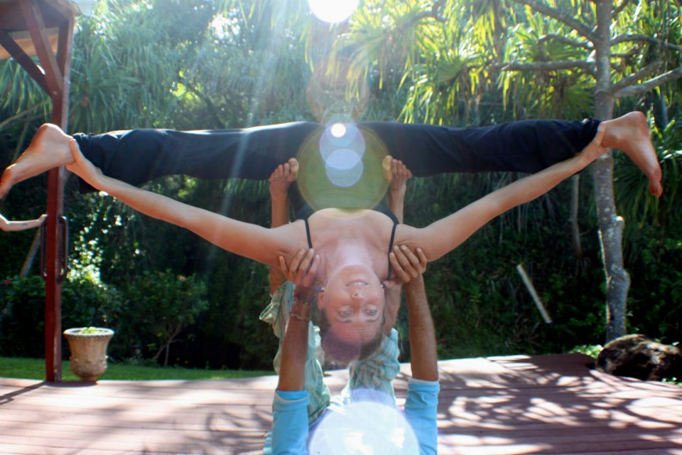 Shoshana Amazing Fly Yoga Pic