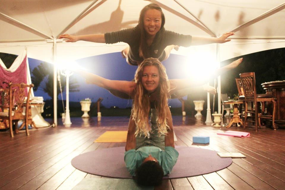 Flying Yoga Sufey Talia Double