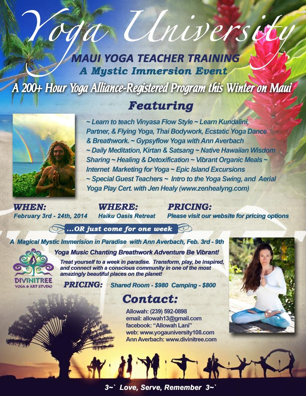 February 3rd 2014 Yoga University V2